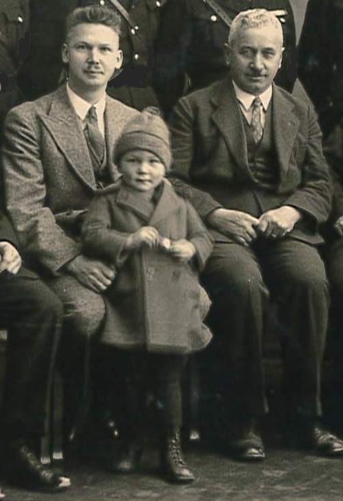 Karl Schönberger und Sohn Gerhard